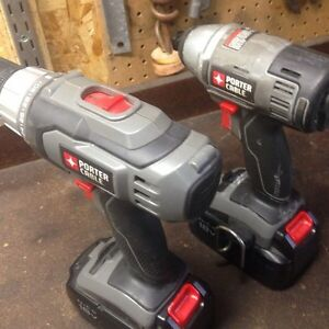 Porter cable drill and impact drill