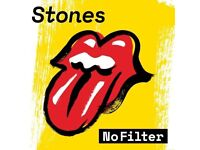 *Reduced* Rolling Stones 25th May - Gold Circle