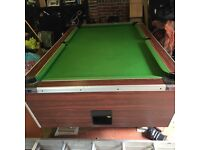 Pub style pool table- 7ft by 4ft
