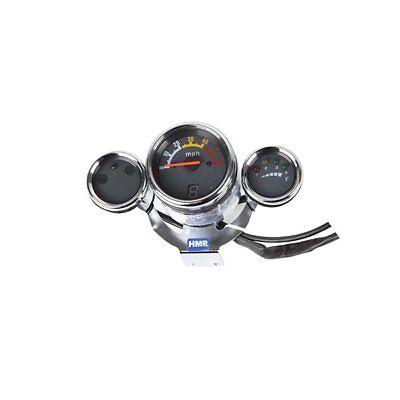 Gebraucht, HMParts ATV Quad Tacho Tachometer Armatur mph Typ 8 gebraucht kaufen  Pemfling
