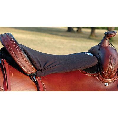 "Western Long Tush Cushion by Cashel - Black 1/2"""