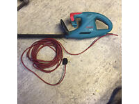 """Bosch 16"""" electric hedge trimmer"""