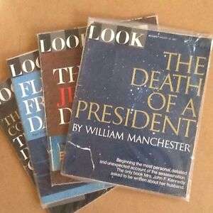 Death of USA President JF Kennedy - 'LOOK' Magazine (4 Issues) Belleville Belleville Area image 1