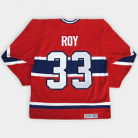 montreal canadiens patrick roy jersey broder neuf medium-large