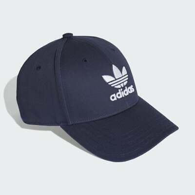Adidas Originals Mens Baseball Cap Hat BNWT OSFM Navy Blue Sun