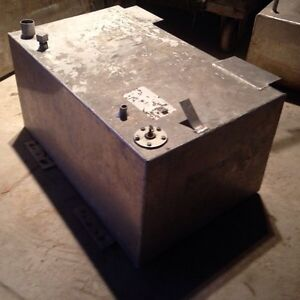 Aluminum boat gas tank from panther/checkmate