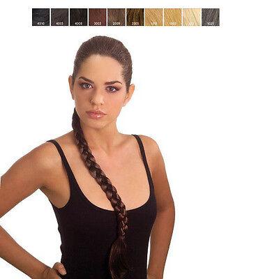 Extension sintetici capelli  Treccia con Elastico Fermacapelli 46 Cm Juliet