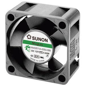 Sunon-HA40201V4-0000-999-Brushless-12V-DC-Ventilatore-Assiale-40-x-40-x-20mm