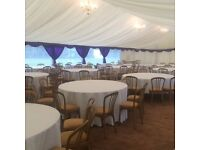 Chair hire & tables/dance floors/marquees/backdrops