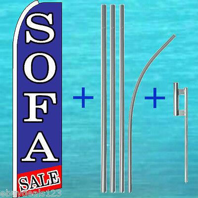 Sofa Sale Flutter Feather Flag 15 Pole Mount Furniture Swooper Banner Sign