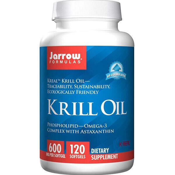 Jarrow Formulas Krill Oil w Phospholipid-Omega-3 Astaxanthin