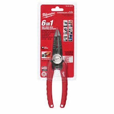 NEW MILWAUKEE 48-22-3079 6 IN 1 ELECTRICAL COMBINATION PLIERS STRIPPER CUTTERS