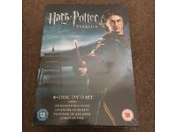 New Harry Potter 4 Disc DVD Set Years 1-4 - Price been Reduced