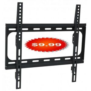 "Durable Slim Profile 32"" - 55"" Fixed TV Wall Mount"