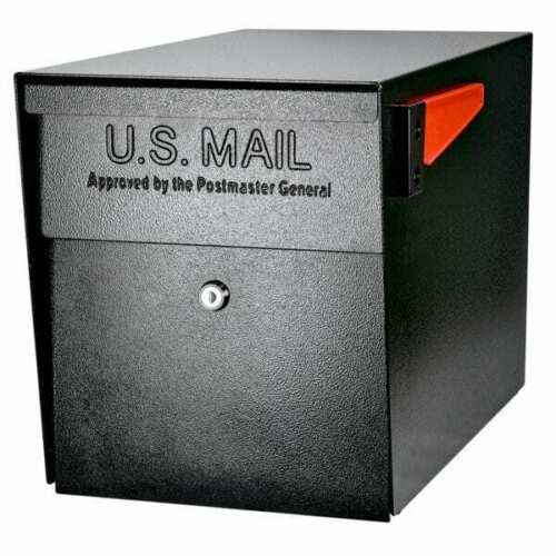 Mail Boss Locking Security Mailbox Anti Identity Theft Heavy Duty Home House