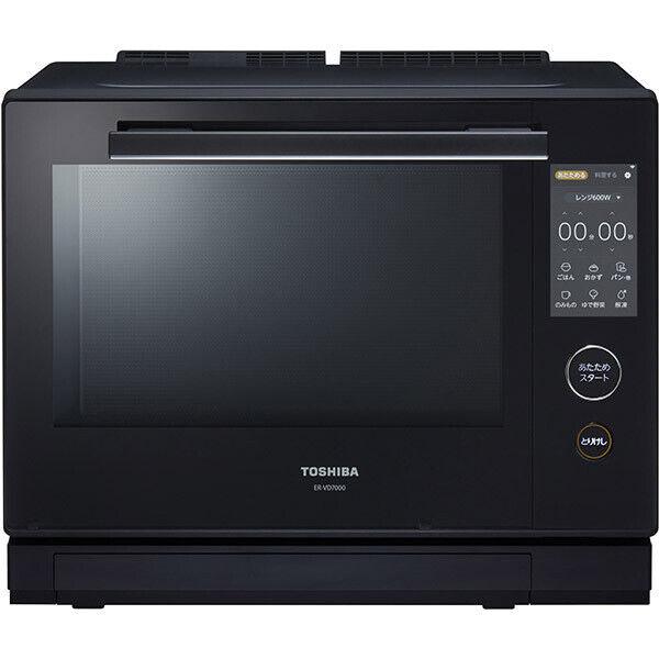 TOSHIBA ER-VD7000 Superheated Steam Microwave Oven Black 100V Japan Domestic New