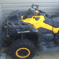 Can am outlander 1000 max xtp 2up
