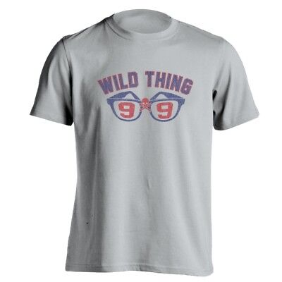 Wild Thing Major League (Wild Thing 99  Funny Major League Cleveland Indians Gray Basic Men's T-Shirt)