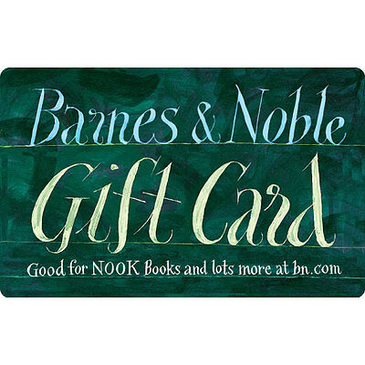 10    25 Barnes   Noble Gift Card   Mail Delivery