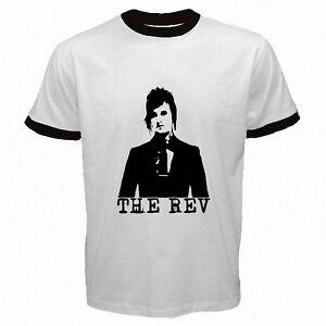 the rev avenged sevenfold mens ringer white t shirt size s