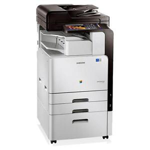 Samsung CLX-9301NA Color Laser Printer Copier Scanner office Copier - Buy or Lease Copiers Printers