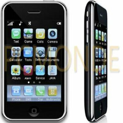 - i68+ Unlocked Touch Screen Cell Phone Dual SIM Card GSM Quad Band