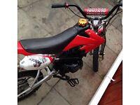Pit bike 110cc £250 no offers no swaps please
