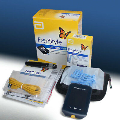 Abbott Freestyle Optium Neo Blood Glucose &B-KETONE Monitor mmol/L NO STRIPS