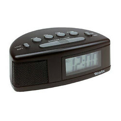 Westclox 47547 Adjustable Super Loud Alarm Clock, 0.7 LCD Display