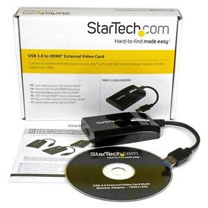 Startech USB 3.0 to 4K HDMI Multi Monitor Video Graphics Adapter