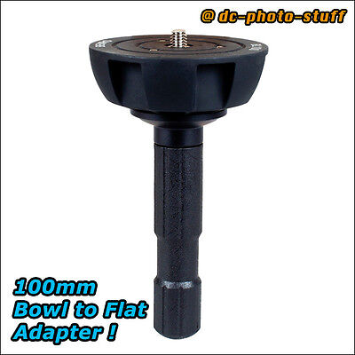 Benro BL100 Bowl / Ball to Flat 100mm Adapter Converter for