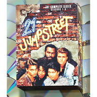 21 Jump Street The Complete Dvd Series (All Five Seasons)!!!