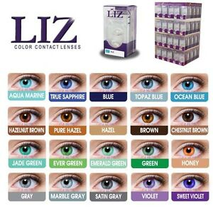 Liz Contact Lenses $20 - 30 different colors to choose from hall