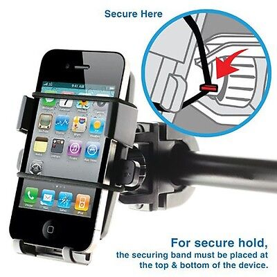 Comprehensive Motorcycle Bike Phone Holder Mount For iPhone 7 Samsung Galaxy HTC