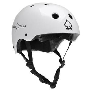Pro-tec Classic White Skateboard Helmet - $25