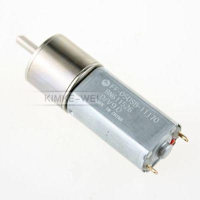 12v 100rpm Torque Gear Box Motor New