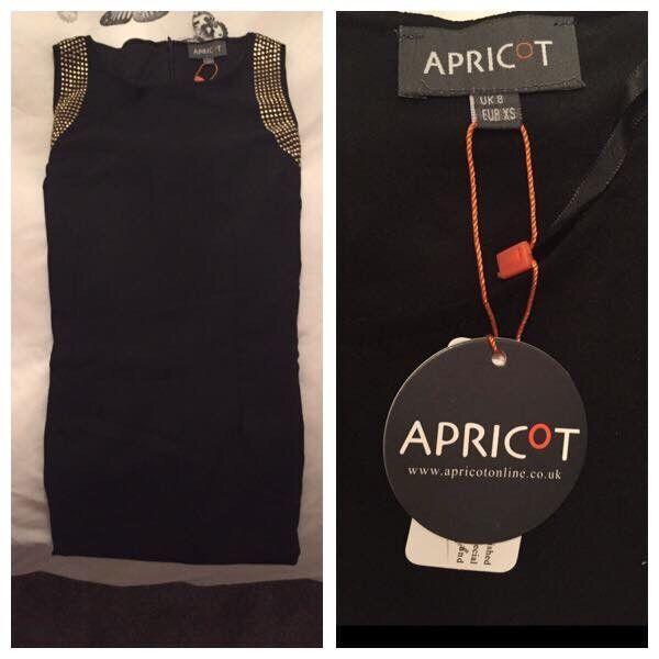 New Apricot black dress - 8