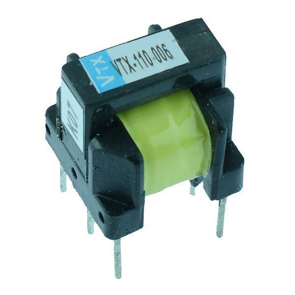 VTX-110-006 Open PCB Pulse Transformer 1:1+1 Vigortronix