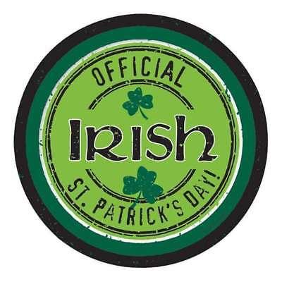St Patricks Day Desserts (OFFICIAL IRISH ST PATRICKS DAY DESSERT PAPER PLATES PARTY DECORATION PACK OF 8)