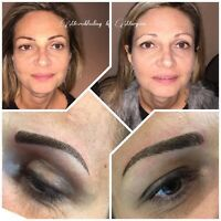 Feathering eyebrows by Maryam $249 special of October