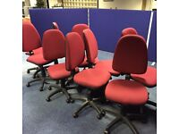 9 office chairs for ��60