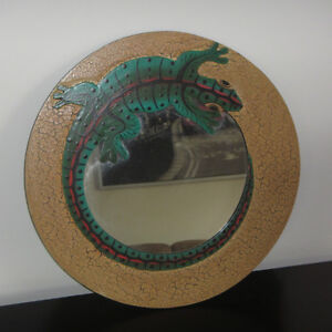 Mirror with Chameleon