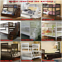 BUNK BEDS ON SALE..........SAVE YOUR MONEY WITH US.....