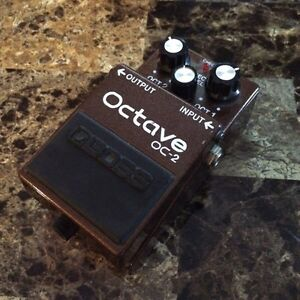 1989 Boss Oc-2 Octave Pedal
