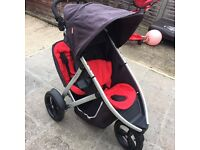 Phils &Ted double pushchair