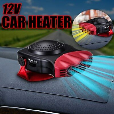 12v car ceramic heater demister cooler Windscreen de mist ice frost screen van