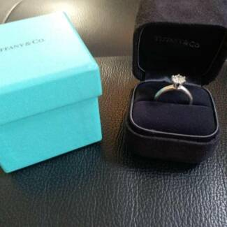 Original Tiffany & Co. 1.05ct Diamond Ring