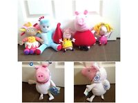 Toy bundle - Peppa pig / Upsy Daisy in the night garden / holly (Ben & holly's little kingdom)