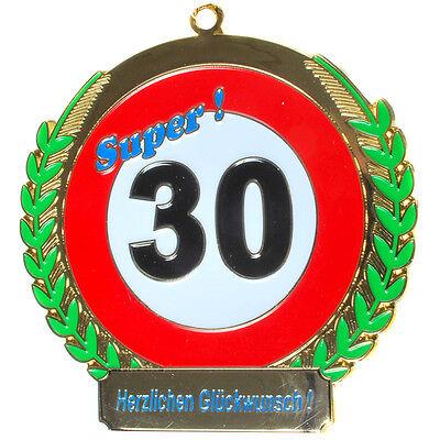 Orden zum 30. Geburtstag * Endlich 30*  Geschenk zum 30.