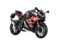Lexmoto LXR SE Special Edition 125 125cc Sports Bike Finance & Delivery EURO 5